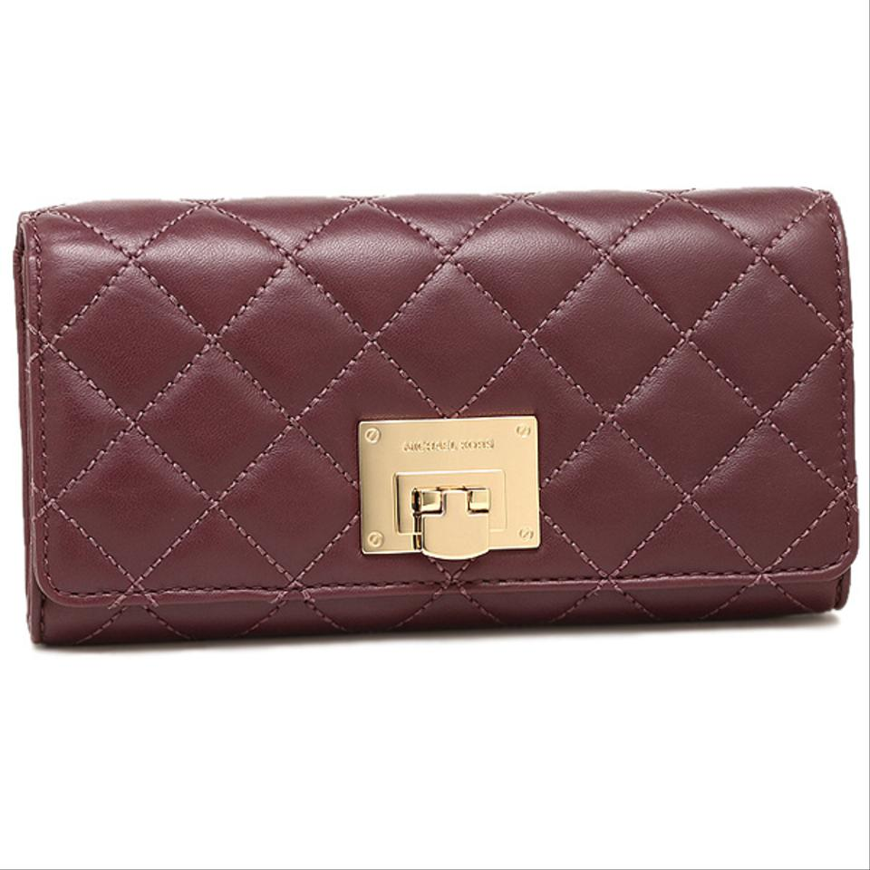 eaaa9eb4c3f5 MICHAEL Michael Kors ASTRID CARRYALL QUILTED LEATHER LARGE CLUTCH WALLET  Image 0 ...