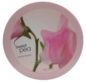 "Bath and Body Works Qty 2 ~ The ""original"" Sweet Pea Body Butter !"