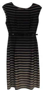 Connected Apparel Striped Dress