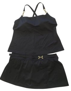 Lands' End Tankini with skirted bottom