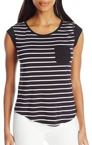 Calvin Klein Top black white
