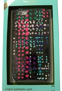 Kate Spade IPHONE 6 PLUS NWT KATE SPADE DOTTY PLAID RESIN