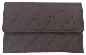 Chanel Chanel quilted card case