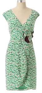 Anthropologie short dress Green on Tradesy