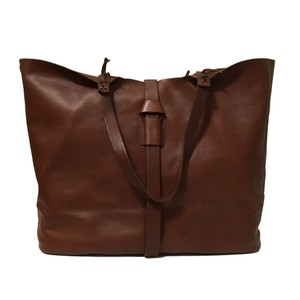 Madewell Tote in Rich Brown