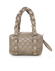 Chanel Lady Braid Bubble Quilted Leather Shoulder Bag