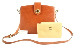Louis Vuitton Epi Crossbody Epi Flap Cluny Monceau Shoulder Bag