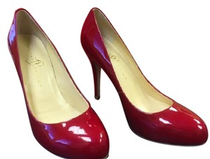 Ivanka Trump Trump Ivanka Leather Red Patent Pumps