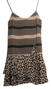Thakoon Addition short dress black and ivory on Tradesy