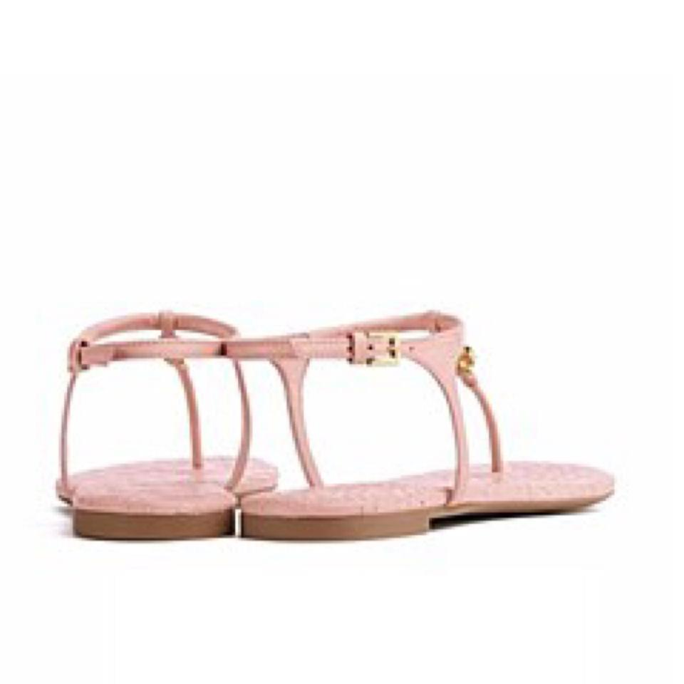 dadc210dbc3c7 Tory Burch Clay Pink Marion Sandals Size US 6 Regular (M