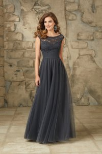 Madeline Gardner New York Charcoal Morilee Bridesmaid Dress Style# 111 Dress