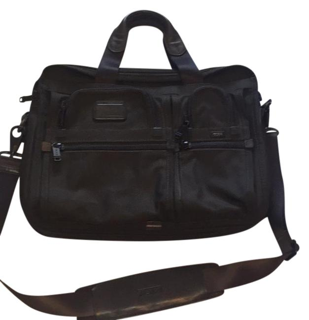 Item - Alpha 2 Expandable Brown Laptop Bag