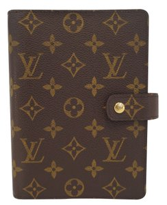 Louis Vuitton Louis Vuitton Monogram Agenda MM Day Planner Cover