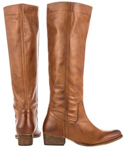 Report Signature Riding Knee High Leather Ombre Tan/Brown Boots