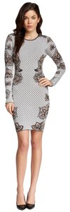 Torn by Ronny Kobo Bodycon Mini Longsleeve Fitted Dress