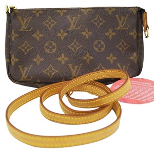 Louis Vuitton Lv Pochette Accessoires Monogram Long Shoulder Bag