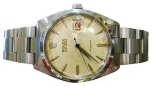 Rolex Mens Vintage ROLEX Oyster Date Precision 6694 Stainless Steel Watch