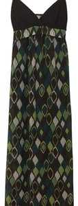 Brown/Multicolored Maxi Dress by Charlotte Russe