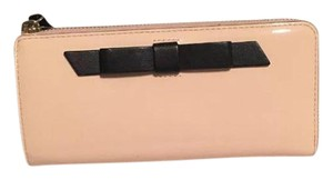 Kate Spade Pale Pink and Black Clutch