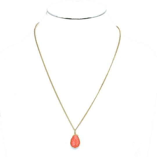 Other Gemstone Coral Pendant Necklace Chain