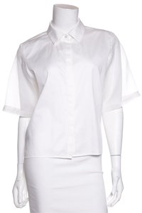 Alexis Button Down Shirt White