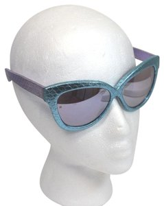 Linda Farrow Luxe Linda Farrow Genuine Snake Skin Sunglasses On Sale ms