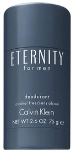 Calvin Klein Eternity Alcohol Free Deodorant Stick For Men By CK 2.6 oz /75 ml New.