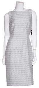 Carmen Marc Valvo short dress Grey on Tradesy