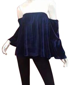Aum-Couture Top Navy blue