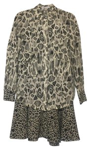 Derek Lam Animal Print New With Tags Nwt Dress