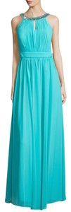 Laundry by Shelli Segal Embellished Open Back Dress