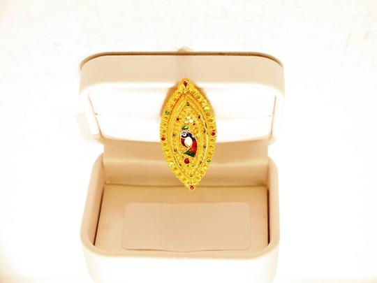 21k 21K Royalty Fine Jewelry Solid Heavy Yellow Gold Ring BNWT Sizes: 8 US $4595. 2