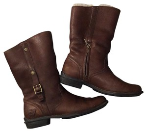 UGG Australia Ugg Shearling Snow Winter Low Brown Boots
