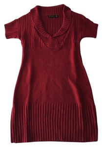 The Limited short dress Dark Rusty Red on Tradesy