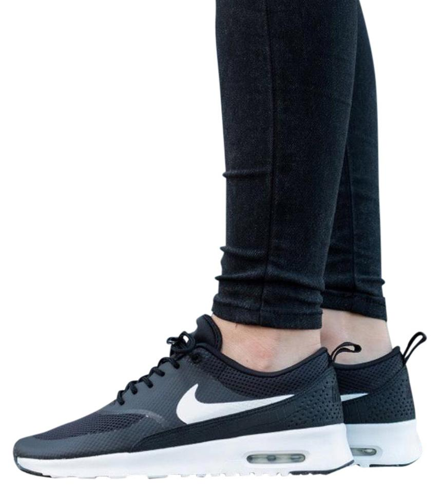1b5d5039f1 Nike Women's Air Max Thea Black Sneakers Style/Color: 599409-020 Sneakers