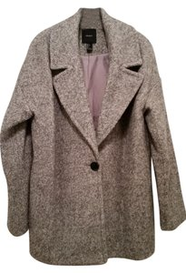 Forever 21 Wool Pea Cocoon 21 Pea Coat