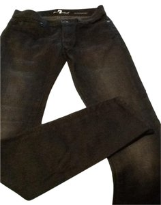7 For All Mankind Limited Edition Skinny Skinny Jeans-Dark Rinse