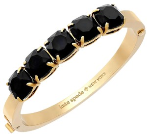 Kate Spade Kate Spade Squared Away Bangle with Black Stones
