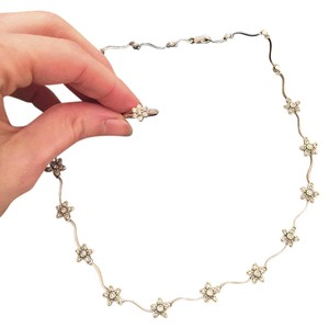 Bloomingdale's Bloomingdales 14K White Gold & Diamond Cluster Flower Necklace & Ring