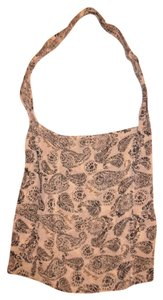 Free People Bohemian Shopper Casual Tote in Black, Ivory