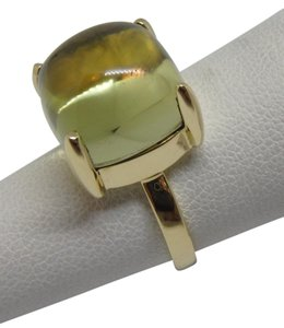 Tiffany & Co. Paloma Picasso 8.ct yellow citrine Sugar Stack 18k ring sz 4