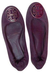 Tory Burch Ballet Reva Purple Flats