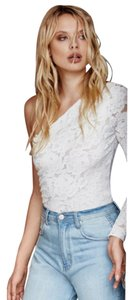 Free People Lace Boho Hippie Top White