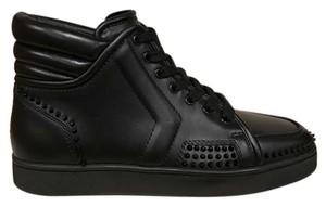 Christian Louboutin Sporty Spike Mens Sneaker Lace black Athletic