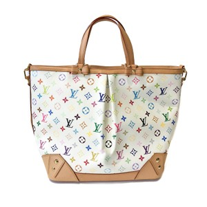 Louis Vuitton Tote in Multicolor White