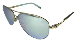 Tiffany & Co. Mirrored Aviator Sunglasses