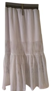 Clover Canyon Maxi Skirt White