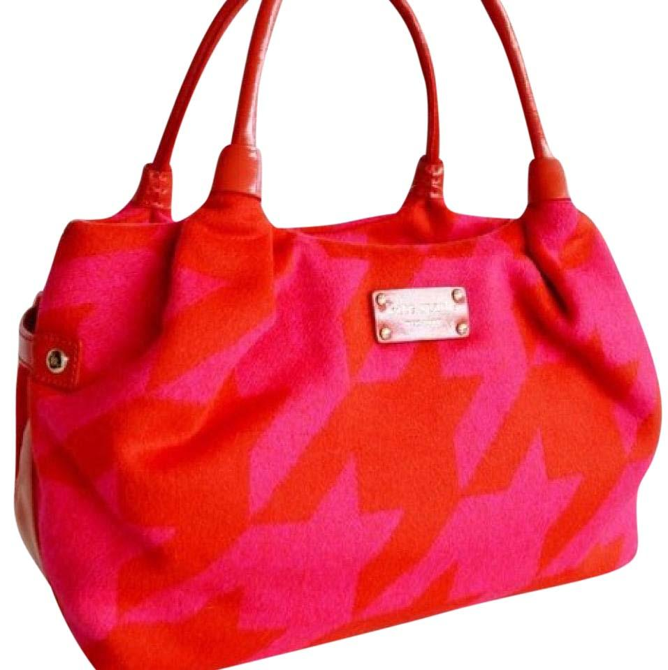Kate Spade Tote In Red Pink