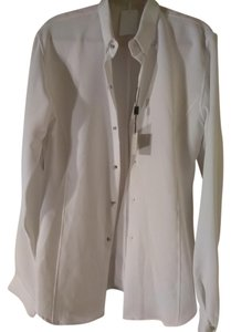 Rynshu Masatomo Button Down Shirt White