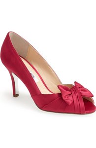 Nina Shoes Red Rouge Forbes Pumps Size US 8.5 Regular (M, B)